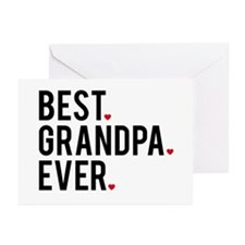 Best Grandpa Ever Greeting Card