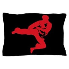 Karate Man Pillow Case