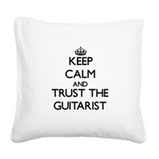 Keep Calm and Trust the Guitarist Square Canvas Pi