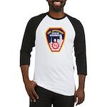 Columbus Fire Department Baseball Jersey