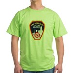 Columbus Fire Department Green T-Shirt