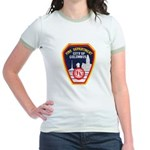 Columbus Fire Department Jr. Ringer T-Shirt