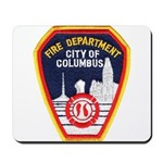 Columbus Fire Department Mousepad