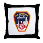 Columbus Fire Department Throw Pillow