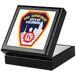 Columbus Fire Department Keepsake Box
