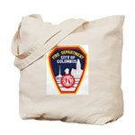 Columbus Fire Department Tote Bag