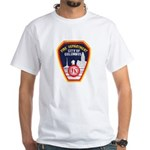 Columbus Fire Department White T-Shirt