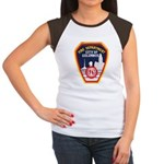 Columbus Fire Department Women's Cap Sleeve T-Shir