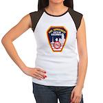 Columbus Fire Department Women's Cap Sleeve T-Shir