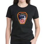 Columbus Fire Department Women's Dark T-Shirt