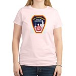 Columbus Fire Department Women's Light T-Shirt