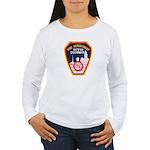 Columbus Fire Department Women's Long Sleeve T-Shi