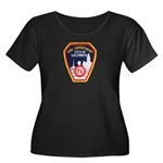 Columbus Fire Department Women's Plus Size Scoop N