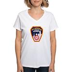 Columbus Fire Department Women's V-Neck T-Shirt