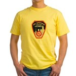 Columbus Fire Department Yellow T-Shirt