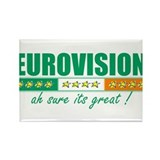 Irish Eurovision Rectangle Magnet