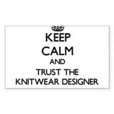Keep Calm and Trust the Knitwear Designer Decal