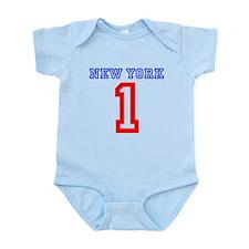NEW YORK #1 Infant Bodysuit