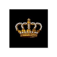 Royal Wedding Crown Sticker