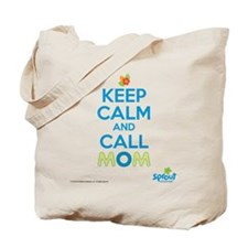 Keep Calm Call Mom Tote Bag