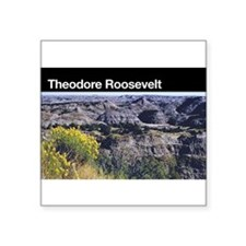 Theodore Roosevelt National Park Rectangle Sticker