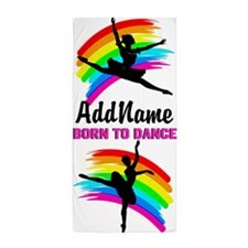 Charming Dancer Beach Towel