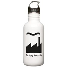 Factory Records Water Bottle