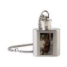 Orang Utan 027 Flask Necklace