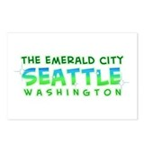 Emerald City Postcards (Package of 8)