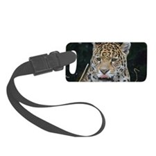 Jaguar Licking His Nose Luggage Tag