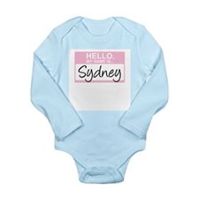 Hello, My Name is Sydney - Body Suit