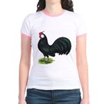 Rosecomb Rooster Jr. Ringer T-Shirt