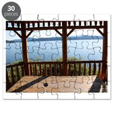 Gazebo and wine Puzzle