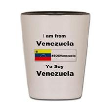 I am from Venezuela Shot Glass