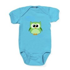 Funny! - Owl Hoot and Toot! Baby Bodysuit