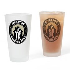 Operation Welcome Home Drinking Glass