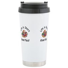 Cute Bibliomania Travel Mug