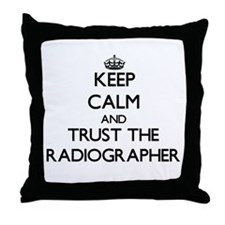 Keep Calm and Trust the Radiographer Throw Pillow