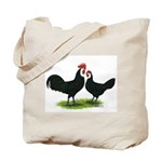 Whitefaced Spanish Chickens Tote Bag