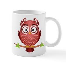Coral Owl Mugs