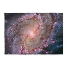 M83 Southern Pinwheel Galaxy 5'x7'Area Rug