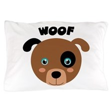 WOOF Pillow Case