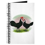 Whitefaced Spanish Chickens2 Journal