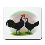 Whitefaced Spanish Chickens2 Mousepad