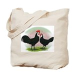 Whitefaced Spanish Chickens2 Tote Bag