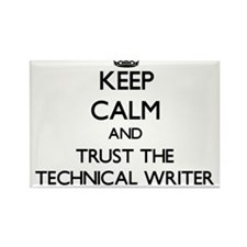 Keep Calm and Trust the Technical Writer Magnets