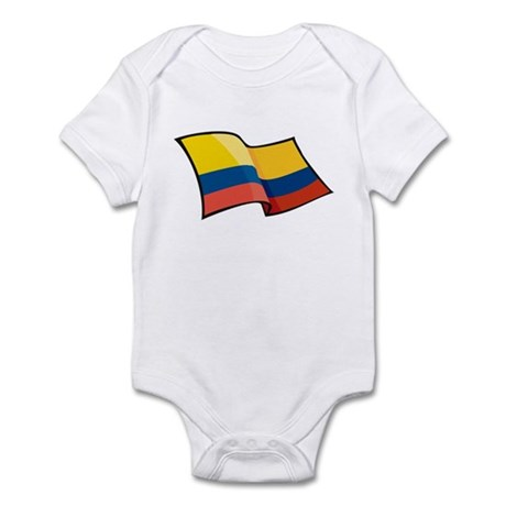 Colombian Flag Infant Bodysuit