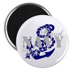 Proud Navy Wife w/ anchor Magnet