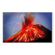 Krakatoa Volcano, Hawaii Decal