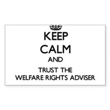 Keep Calm and Trust the Welfare Rights Adviser Sti